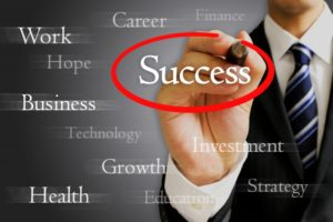 会社員の成功